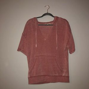 sweatshirt material t-shirt forever 21 size med